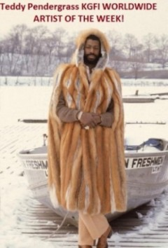 Teddy Pendergrass fur