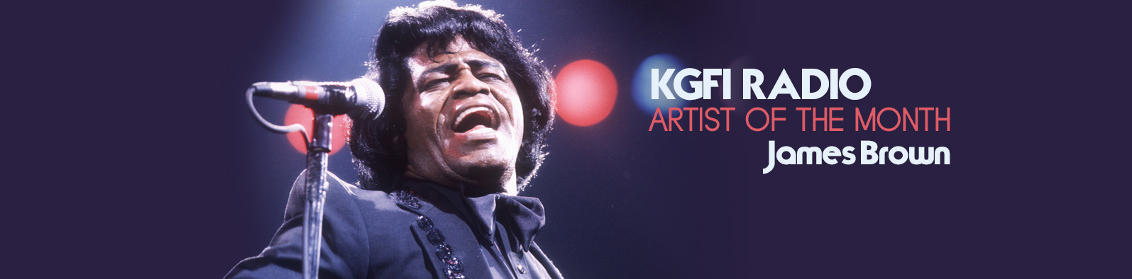 artist of the month james brown